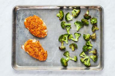 Roast Chicken & Broccoli