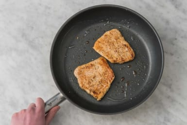 Pan-fry steaks