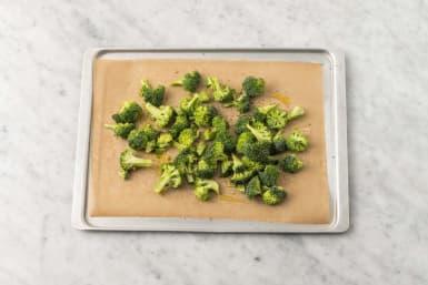 Prep and roast broccoli