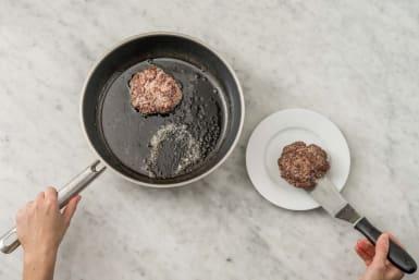 Cook Beyond Meat® patties