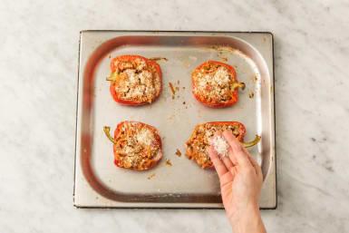 Fyld peberfrugter