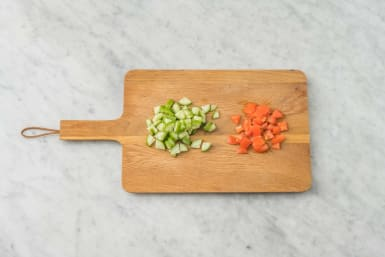 Hacka grönsaker