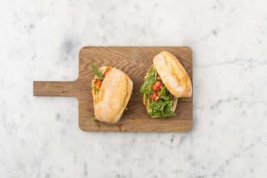 Sandwich belegen