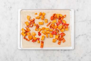 Süßkartoffel backen
