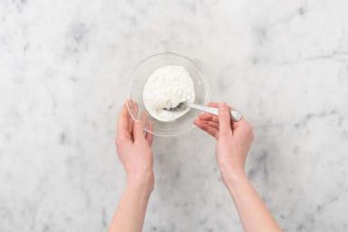 Zitronen-Dill-Joghurt-Soße