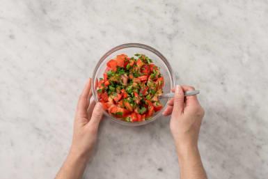 Blanda salsa