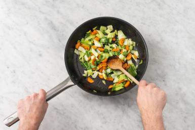 Stek grönsaker