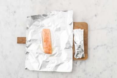Make the Salmon Parcels