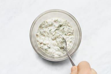 Make Creamy Chimichurri