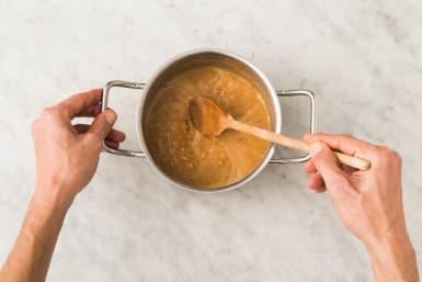 Soße kochen