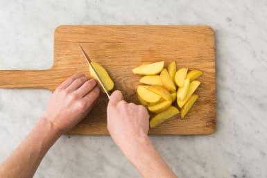 Für die Kartoffelecken