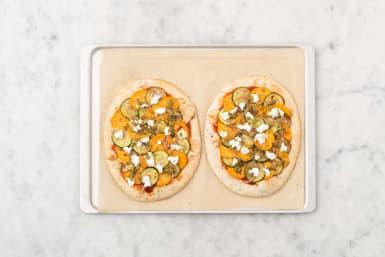 Pizza bereiden