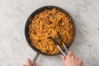 Spaghetti mengen