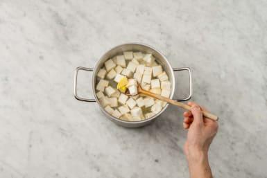 Sellerie kochen