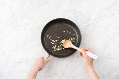 Cook the aromatics