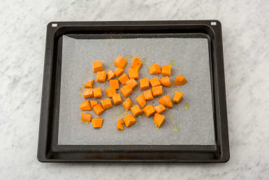 Cook the sweet potato