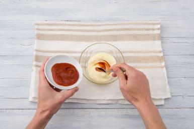 Make the Sriracha mayo
