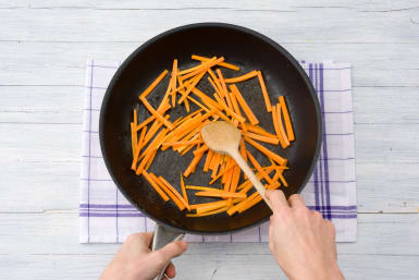 Cook the carrot