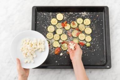 Broil veggies