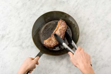 Cook steak