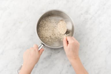 Cook couscous