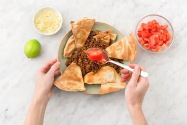 Assemble the nachos