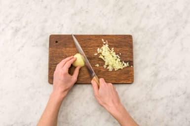 Prep remaining ingredients