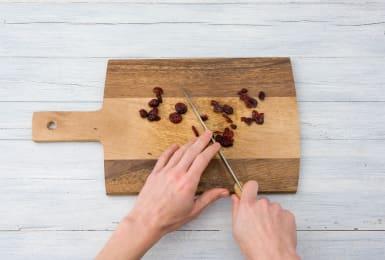 Cranberrys grob hacken