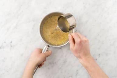 Cook bulgur