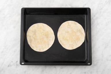 Prep tortilla.