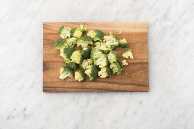 Prep broccoli.