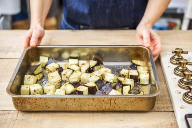 grill aubergine