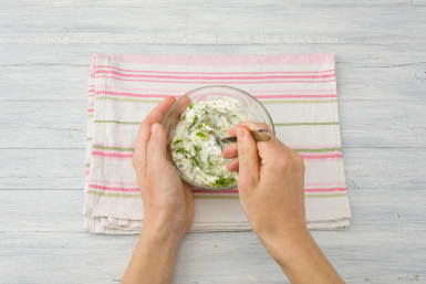 Make the tzatziki