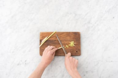 Cook Rice and Prep Lemongrass