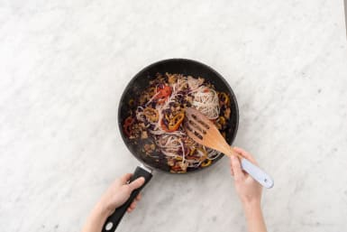 Make Sauce and Toss Noodles