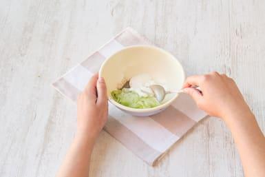 Make the cucumber salad