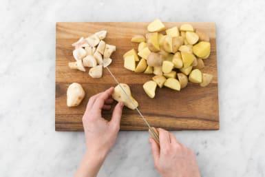 Kartoffeln vorbereiten