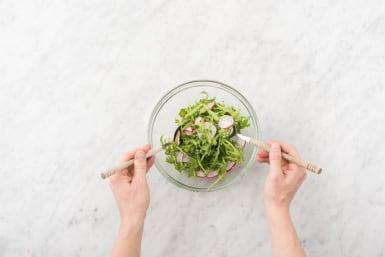 Make Salad and Plate