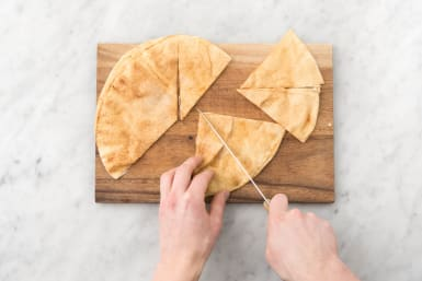 Bake The Pita Nachos