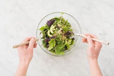 salat fertigstellen