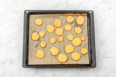 COOK THE SWEET POTATO THINS