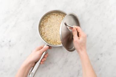 Parelgerst koken