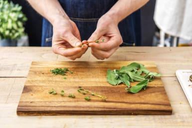 Prep the Herbs