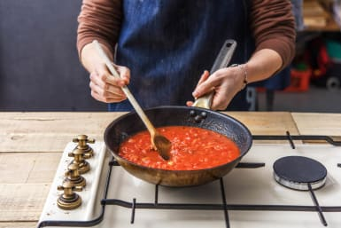 Cook the Pasta And Sauce