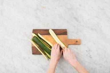Prep Zucchini and Chicken