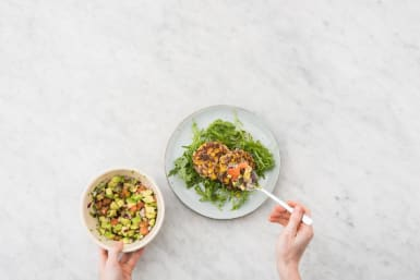 Toss Salad and Plate