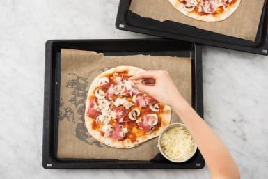 Pizza's beleggen