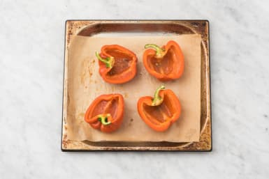 BROIL PEPPERS