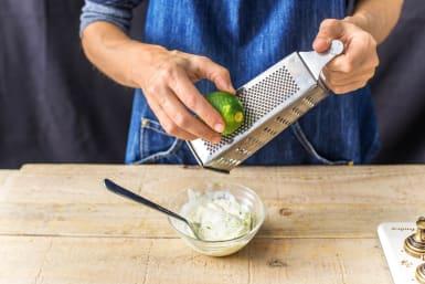 Mix the Sour Cream