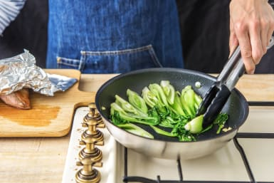 Cook the Bok Choy